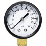 Filter Pressure Gauge