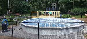 Round Aquasport 52 installed in pelham nh