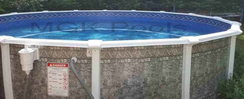 LASA above-ground pool kit