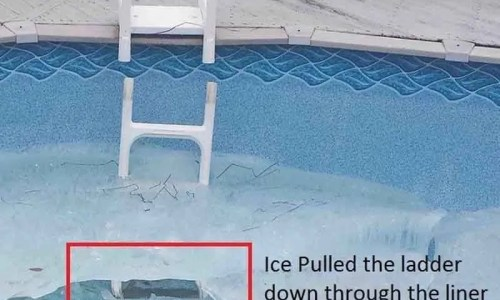 Winter Damage to Above Ground Pools 2018