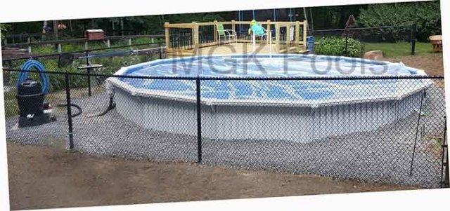 21 round Aquasport 52 Pool Package