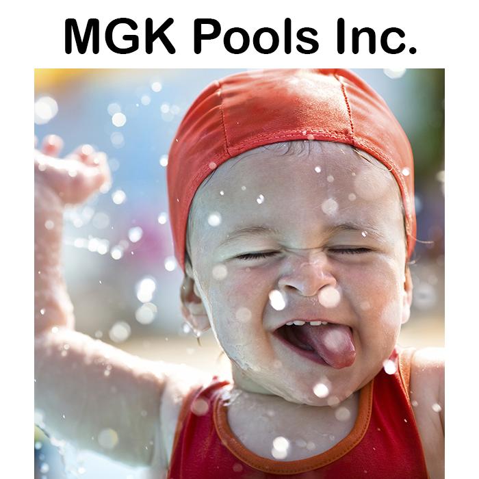 MGK Above Ground Pool Logo