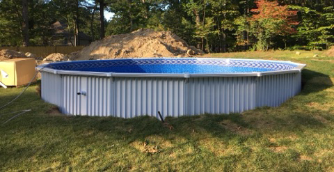 18' above ground pool - Aquasport 52