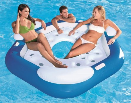 Bestway X3 3-Person Inflatable Floating Island
