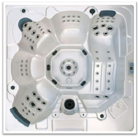 Home and Garden Spas LPI106X12 5 Person 106 Jet Spa