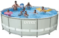 Intex Ultra Frame Pool Set with Sand Filter Pump