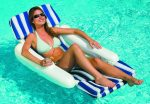 International Leisure Sunchaser Padded Floating Lounger