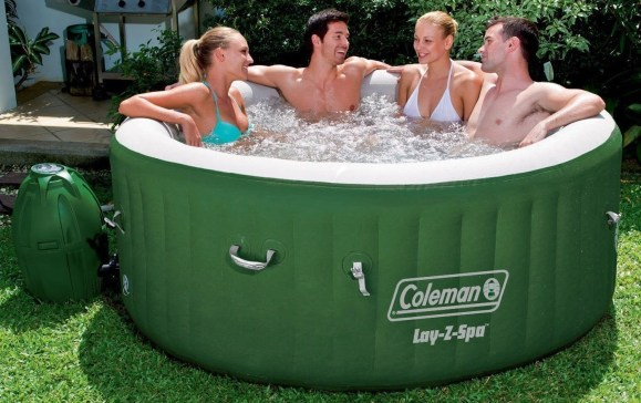 intex inflatable hot tub reviews pools and tubs. Black Bedroom Furniture Sets. Home Design Ideas