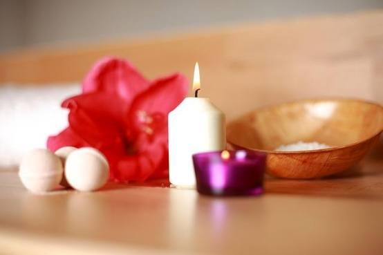 Sauna candles