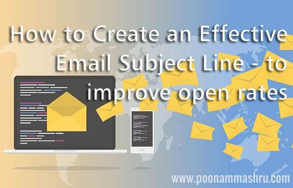 poonam mashru blog email marketing tips