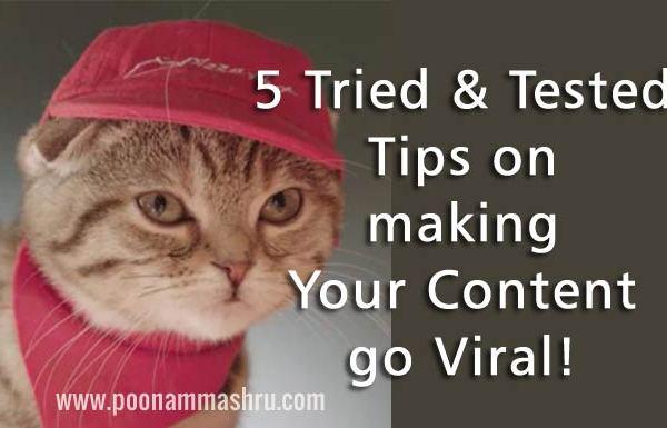 viral marketing tips at poonam mashru blog