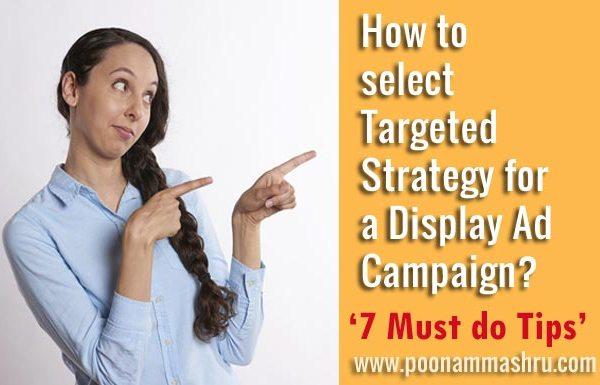 display network strategies - poonam mashru blog