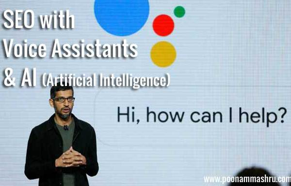 voice assistant taking over seo - what is seo with ai