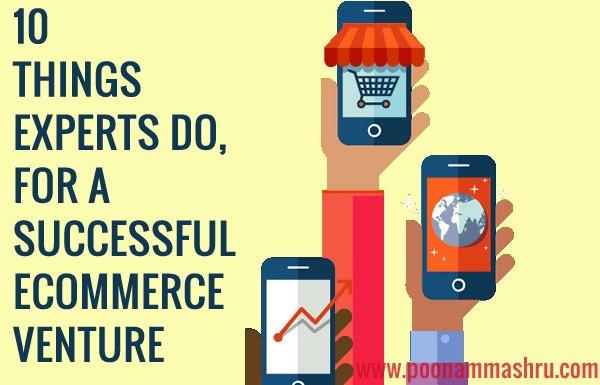ecommerce venture tips blogging poonam mashru