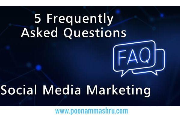 faq social media marketing tips poonam mashru blog
