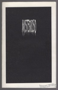 Mysterioso front cover