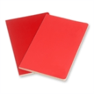 Moleskine Volant in red and salmon$5.95
