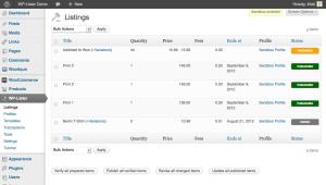 WP lister for ebay