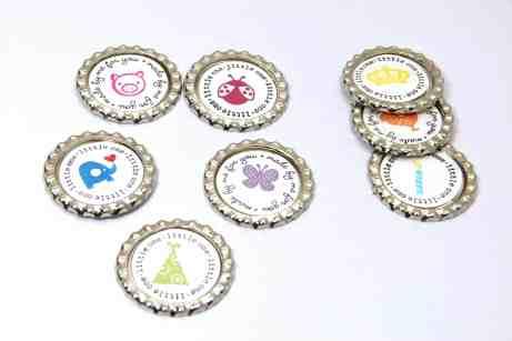 Stampin Up UK Soda Pop Top Magnets