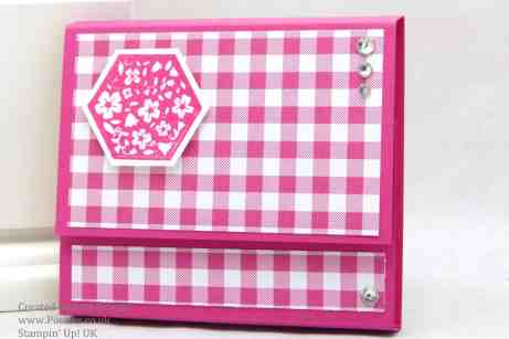 Pootles Stampin Up Gingham Garden Post it note Holders 2 (1)