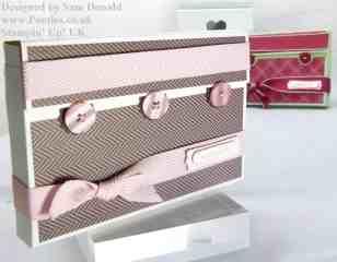 Pootles Stampin Up UK Card Gift Box 3