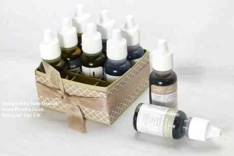 Pootles Stampin Up UK Lipstick or Reinker Storage Box 2