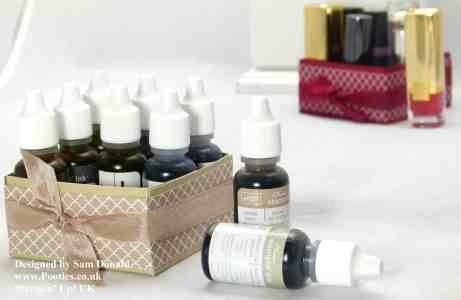 Pootles Stampin Up UK Lipstick or Reinker Storage Box 4