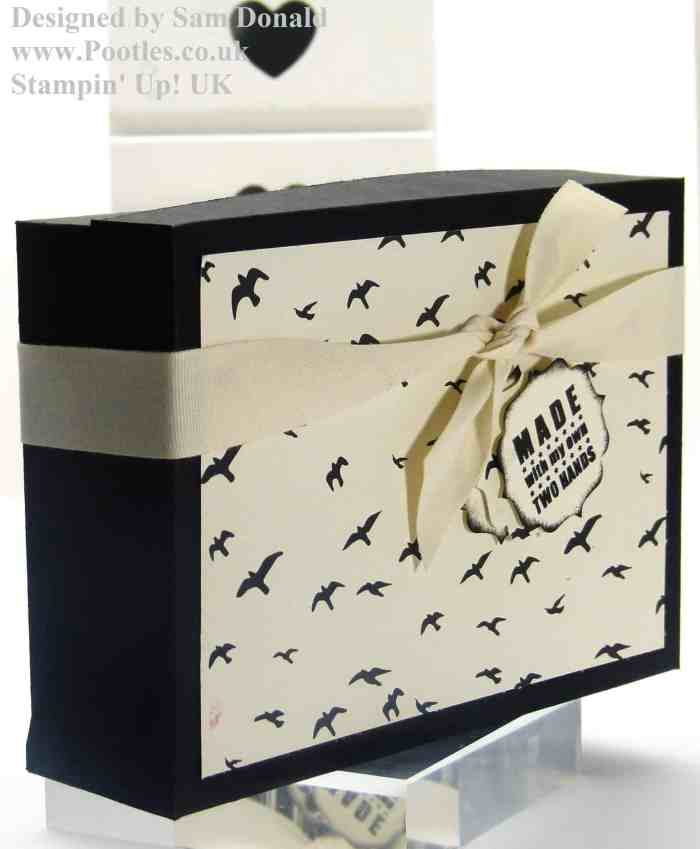 Pootles Stampin Up Sloping Sided Box 5