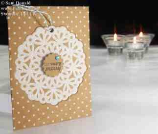 Pootles Stampin' Up! UK Advent Countdown Number 1 h (1)