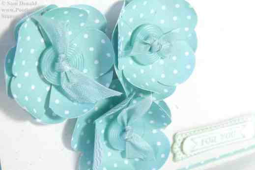 POOTLES Stampin' Up! UK Pool Party Flowers For You 2
