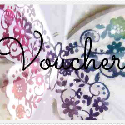 Stampin' Up! Gift Vouchers are ready to buy now!