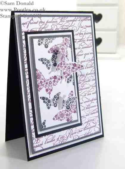 POOTLES Stampin Up  UK Papillon Pot Pourri meets En Francais Unusually! 2