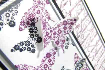 POOTLES Stampin Up  UK Papillon Pot Pourri meets En Francais Unusually!