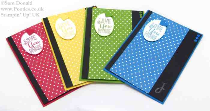 Stampin Up UK My Sons, I Love YOU More