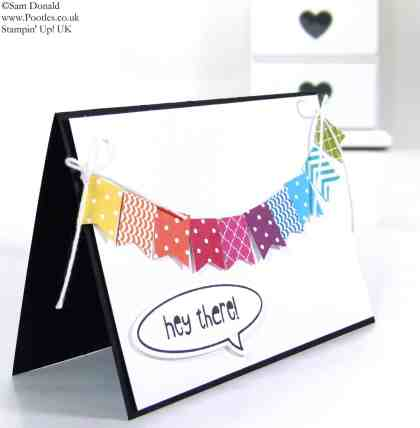 POOTLES Stampin' Up! UK A Bright Banner. Just Sayin.... 2