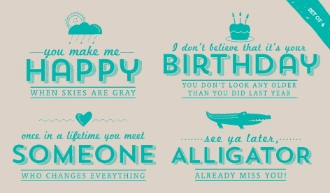 Sale a Bration See Ya Later Stamp Set