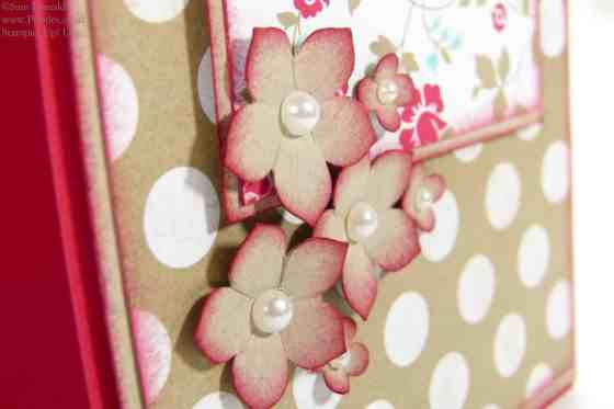 Stampin' Up! UK Happy 1st Anniversary Pootles.co.uk! (close up!)