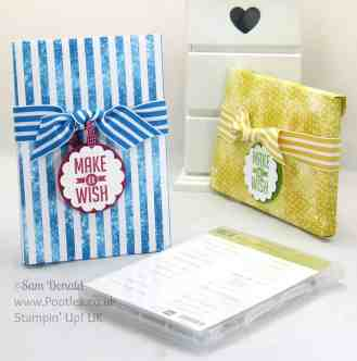 POOTLES Envelope Punch Board Stamp Set DVD Wrap Tutorial