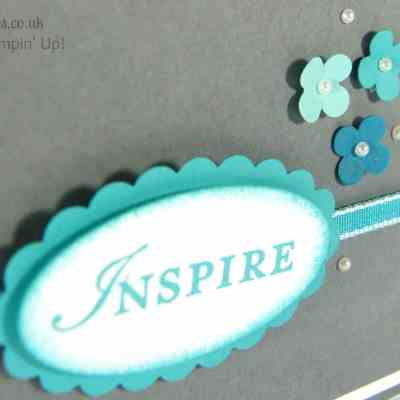 Inspired by Blue – a Card Made using Stampin' Up! UK products…