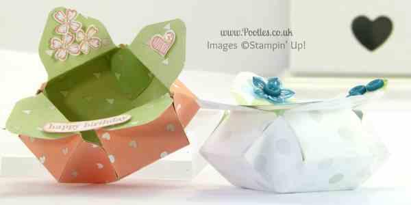 June - Envelope Punch Board Petal Pot