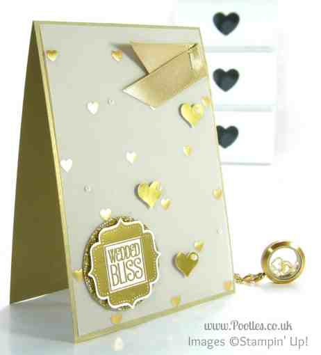South Hill Designs & Stampin' Up! on Sunday - Golden Card