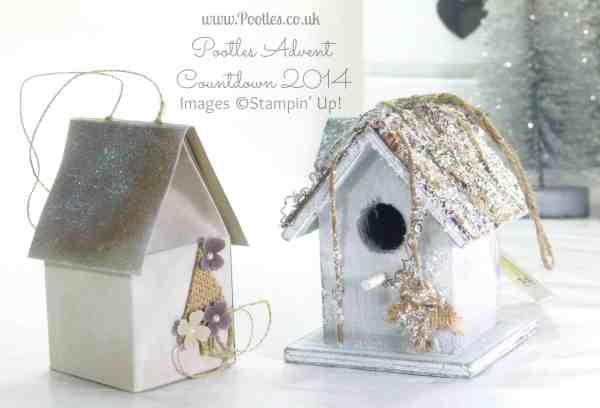Pootles Advent Countdown #13 Frosty House Decoration Tutorial With inspiration