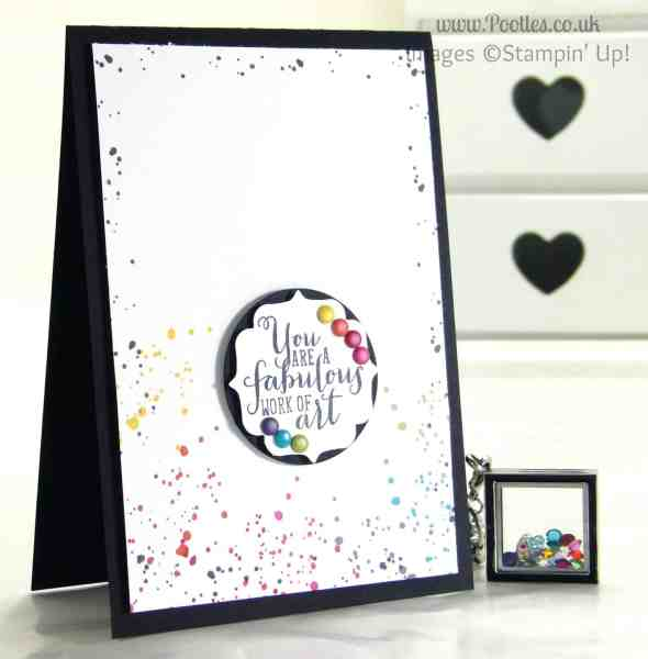 South Hill & Stampin' Up! Sunday Rainbows Card