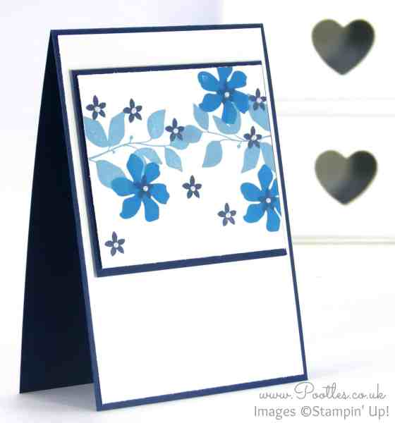 Stampin' Up! Independent Demonstrator Pootles - Single Layer Summer Silhouettes