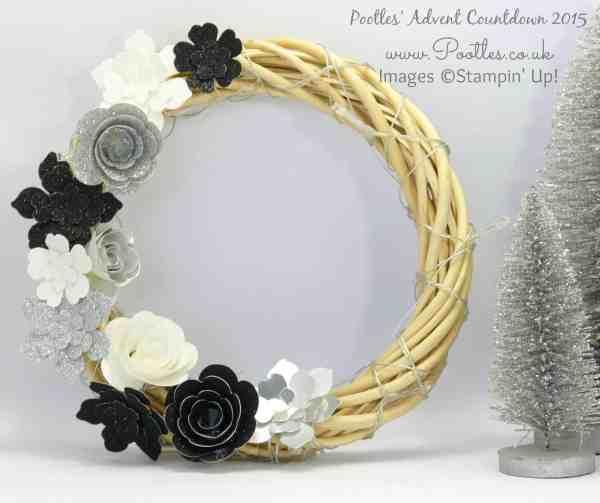 Pootles Advent Countdown #3 Christmas Wreath Tutorial