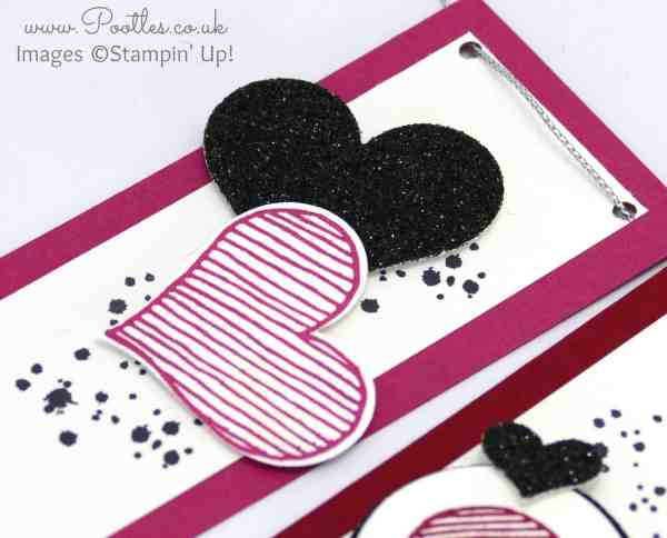Stampin' Up! Demonstrator Pootles - Create Banner Tutorial using Stampin' Up! Banner Punch Hearts