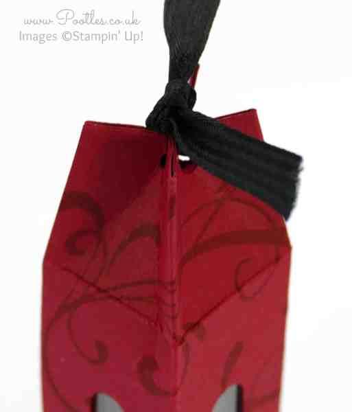 Stampin' Up! Demonstrator Pootles - Nail Polish Bottle Box Tutorial top