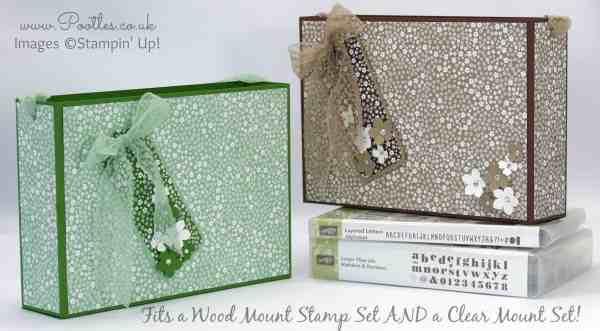 Stampin' Up! Demonstrator Pootles - Super Huge Bag for Stampin' Up! Wood & Clear Mount Stamp Sets