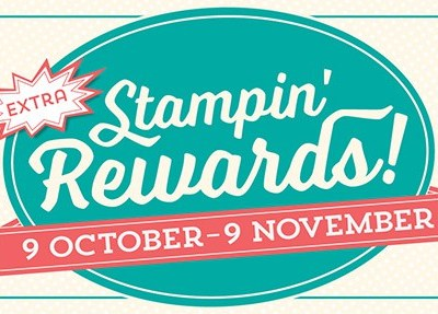 Extra Stampin' Rewards when you shop with me!!!