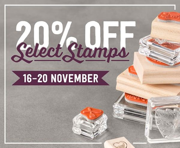 Stampin' Up! Demonstrator Pootles - HOT NEWS! 20% off Stamps for 5 Days Only!